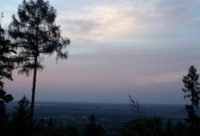 Sunset on sobotka